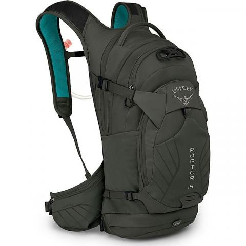 Osprey Raptor 14 Daypack (with Hydration System), GREEN