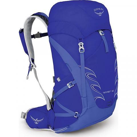 Osprey Tempest 9 Women's Hiking Backpack, IRIS BLUE