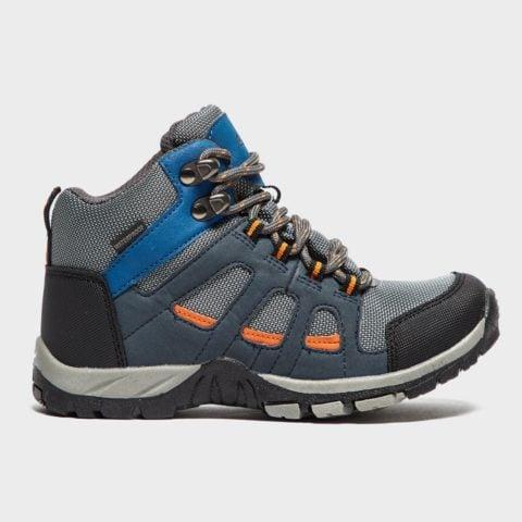Peter Storm Boys' Headley Waterproof Mid Walking Boot, Grey