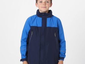 Peter Storm Kids' Mercury Waterproof Jacket, Navy