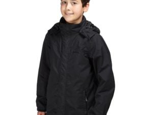 Peter Storm Kids' Waterproof Jacket, Black