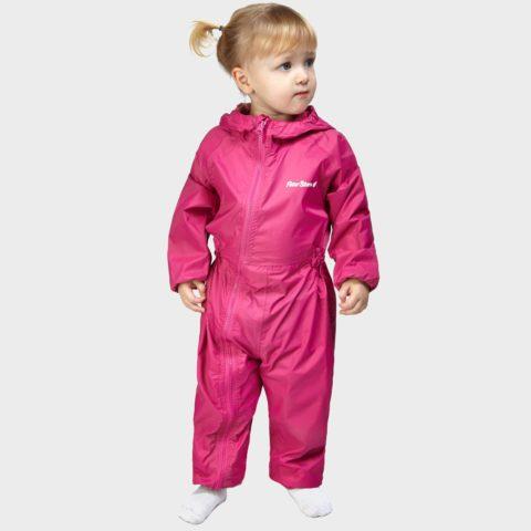 Peter Storm Kid's Waterproof Suit, Pink
