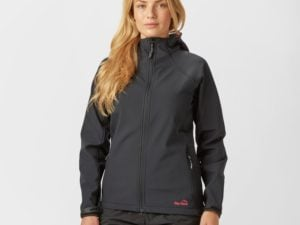 Peter Storm Women's Hooded Softshell Jacket - Black, Black