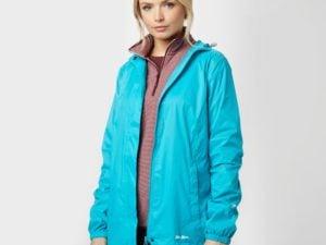 Peter Storm Women's Packable Hooded Jacket, Blue