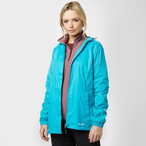 Peter Storm Women's Packable Hooded Jacket, Blue