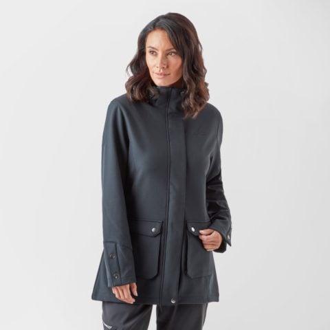Peter Storm Women's Parka Softshell - Black, Black