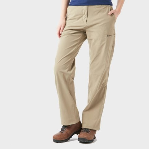Peter Storm Women's Stretch Roll Up Trousers, Cream