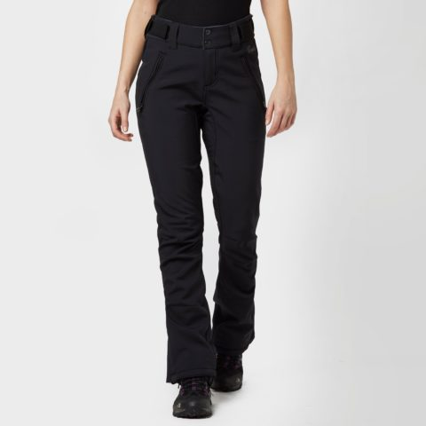 Protest Women's Lole Softshell Ski Pants, Black