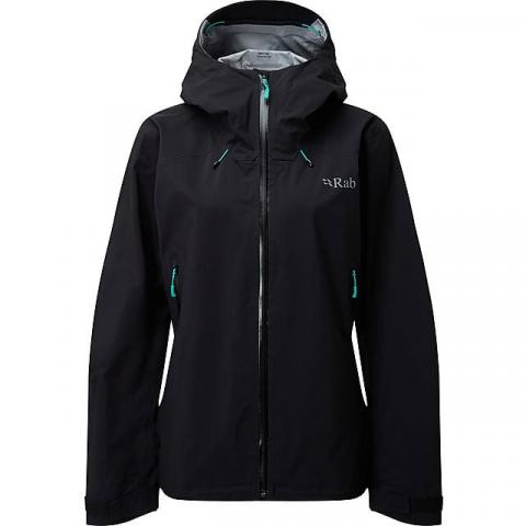 RAB Women's Arc Waterproof Jacket, BLACK