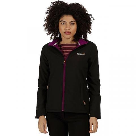 REGATTA Connie III Women's Softshell Jacket, BLACK
