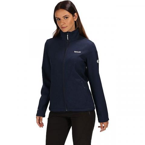 REGATTA Women's Carby Softshell Jacket, NAVY