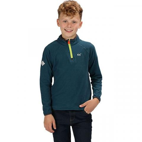 REGATTA Youth Loco Half Zip Fleece (14-15 years), SEA BLUE
