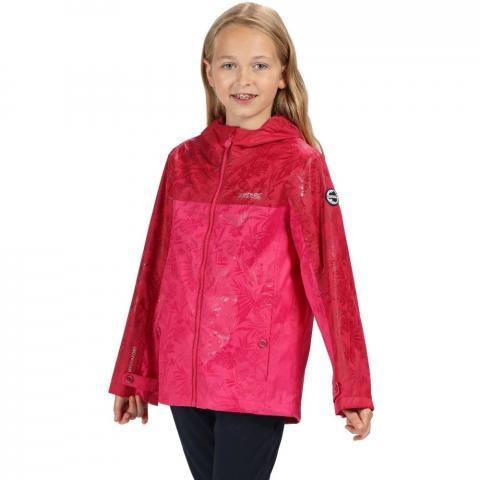 Regatta Boys & Girls Disguizer Waterproof Hooded Coat Jacket 11-12 Years - Chest 75-79cm (Height 146-152cm)