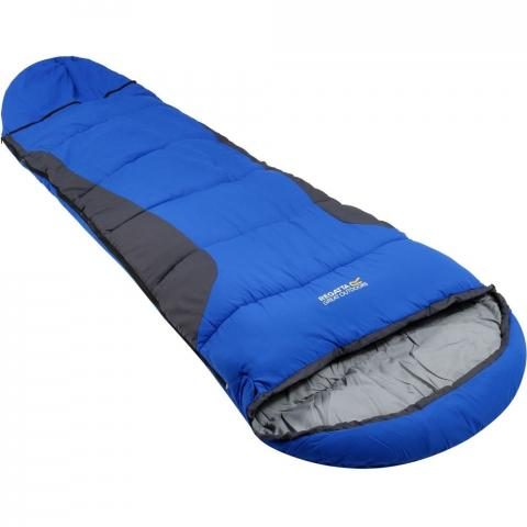 Regatta Boys & Girls Hilo Boost Insulated Mummy-Style Sleeping Bag One Size