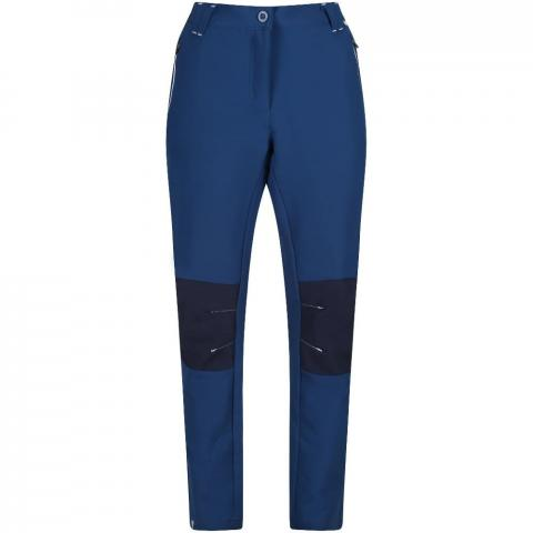Regatta Womens Questra II Durable Softshell Walking Trousers 10 - Waist 27' (68cm) Inside Leg 31'