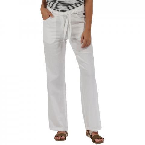 Regatta Womens/Ladies Quinetta Coolweave Lightweight Linen Trousers UK Size 12 - Waist 29' (74cm)