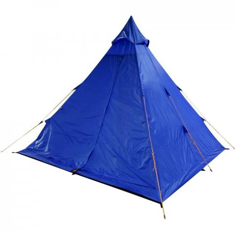Regatta Zee Fest 4 Man Durable Waterproof Camping Tipi Tent One Size