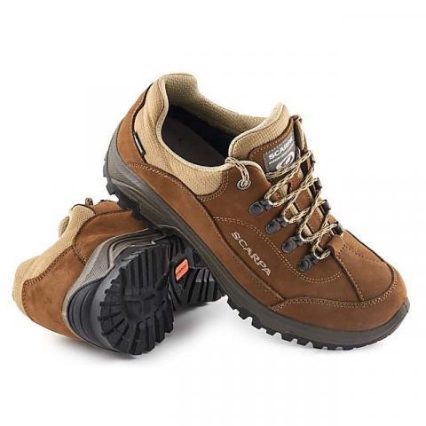 SCARPA Cyrus GTX Women's Walking Shoes, BROWN