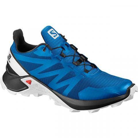 Salomon Men's Supercross Running Shoes, BRIGHT BLUE