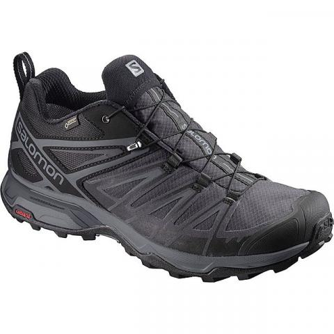 Salomon Men's X Ultra 3 LTR GTX Walking Shoe, BLACK