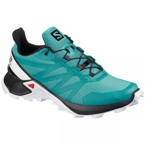Salomon Women's Supercross Running Shoes, LIGHT TURQUOISE