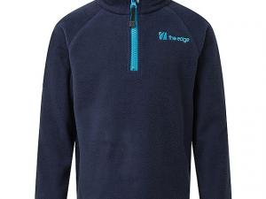 THE EDGE Kids' Ascend Pull On Fleece, NAVY