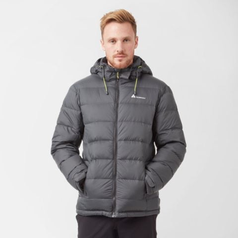 Technicals Men's Tech Down Jacket, Grey