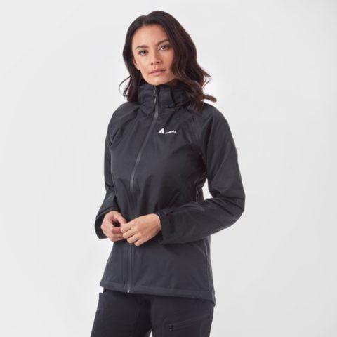 Technicals Women's Descent Waterproof Jacket, Black