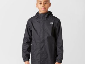 The North Face Boy's Resolve Waterproof Jacket, Black