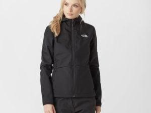 The North Face Women's Tanken Softshell Jacket - Black, Black