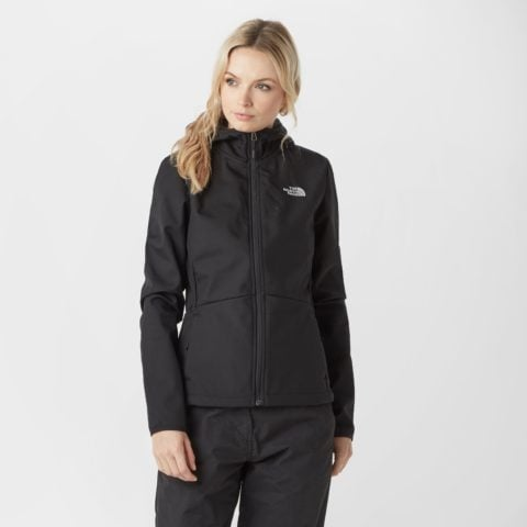 The North Face Women's Tanken Softshell Jacket - Black, Black