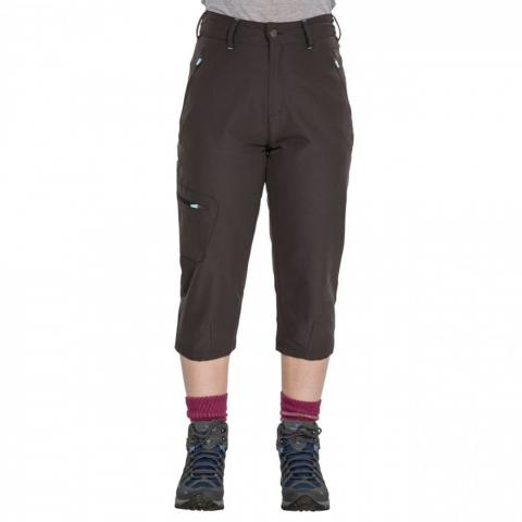 Trespass Womens Recognise Stretch 3/4 Capri Walking Trousers 12/M - Waist 30' (76cm)