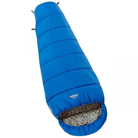 VANGO Starlight Junior Sleeping Bag, COBALT BLUE