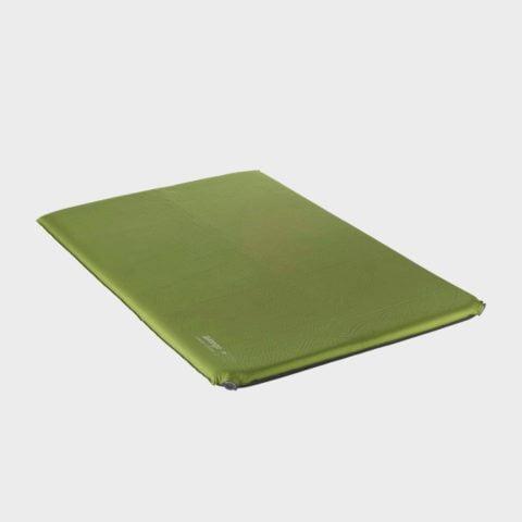 Vango Comfort 7.5 Double Sleeping Mat - Green, Green
