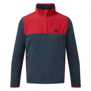 WEIRD FISH Kids' Hopper 1/4 Zip Soft Knit Fleece Sweatshirt