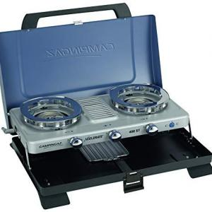 Campingaz Camping Stove 400ST, Portable TwoBurner Gas Cooker 4.400Watt and Compact Outdoor Toaster Grill 1.200 Watt