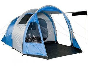 Fridani TSB 4 man tent tunnel tent 3000mm waterproof standing height ventilation blue