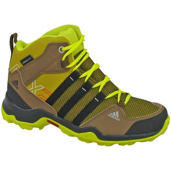 adidas AX2 Mid CP K boys's Children's Walking Boots in Brown