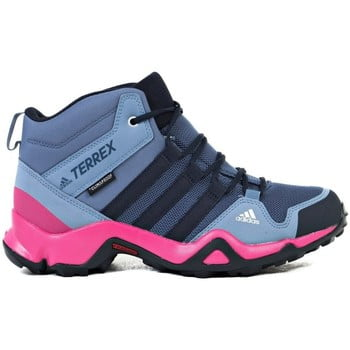 adidas Terrex AX2R Mid CP boys's Children's Walking Boots in Grey. Sizes available:Kid 1,Kid 3,Kid 12,Kid 13