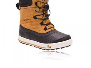 Merrell Boys' Ml-Snow Bank 2.0 Waterproof High Rise Hiking Boots