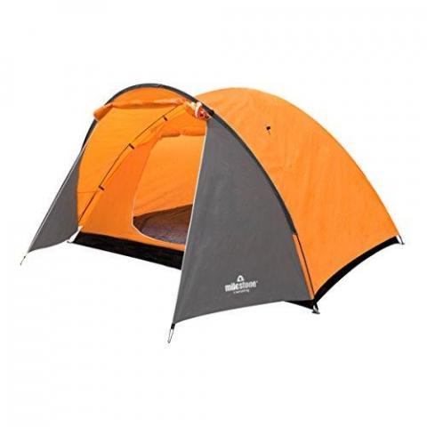 Milestone Camping Camping 18890 4 Man Super Dome Tent