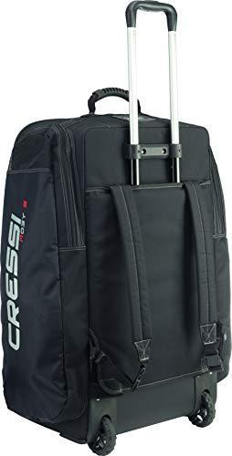 Cressi Unisex's Moby 5 Diving Bag, Black/Red Logo, 115 Litre