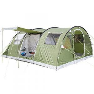 Skandika Gotland 5 Person Man Group or Family Tunnel Tent with Sewn-In Groundsheet