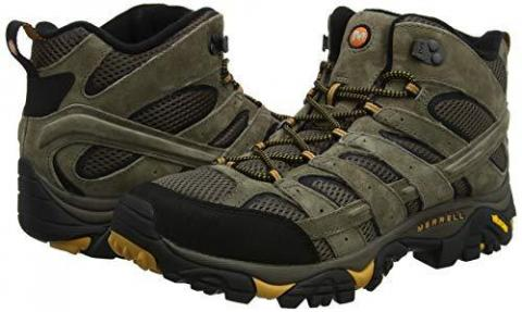 Merrell Men's Moab 2 Mid Vent High Rise Hiking Boots