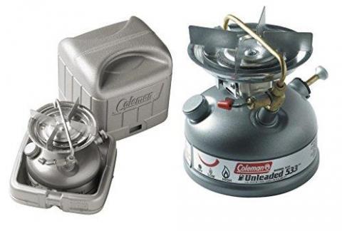 Coleman Sportster Single Burner Fuel Stove - Grey