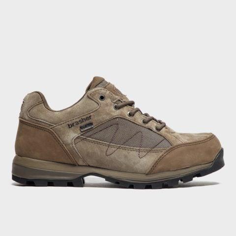 Brasher Women's Country Hiker Walking Shoes - Brown, Brown