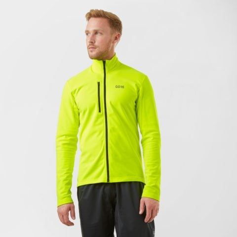 Gore Men's C3 Thermo Jersey, Yellow
