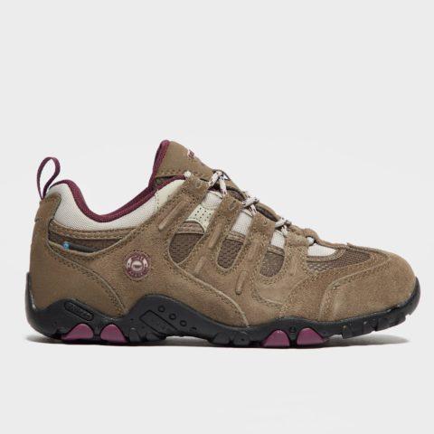 Hi Tec Women's Saunter Waterproof Walking Shoes - Taupe, Taupe