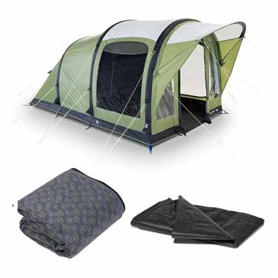 Kampa Dometic Brean 3 Air Tent Package 2020