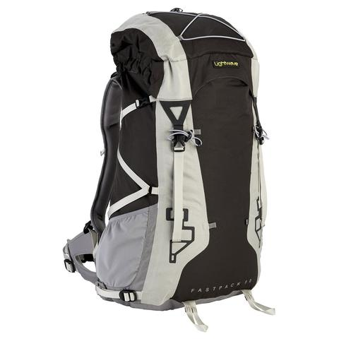 Lightwave | Fastpack 50 Rucksack | Hiking Rucksack | 50l Bag | Black